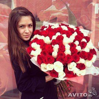 101 роза доставка букетов цветов опт