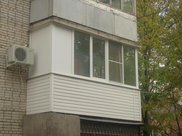 Монтаж окон,остекление и внутренняя отделка балконов лоджий .